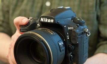 New Gear: Nikon D810 Full Frame DSLR