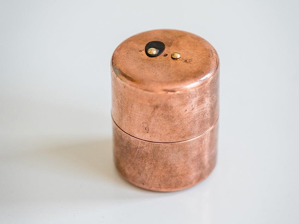 copper pinhole camera