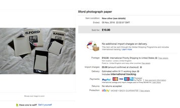 This Is Not How To Sell Photo Paper On eBay