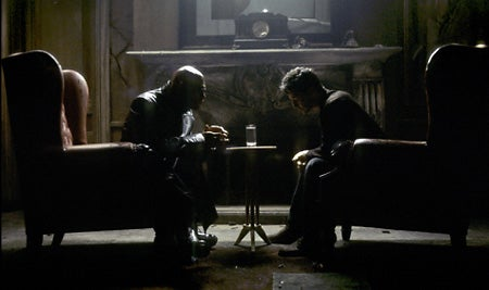 """""""Keanu-Reeves-and-Laurence-Fishburne-chat-during-th"""""""