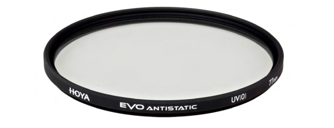 Hoya EVO antistatic filters