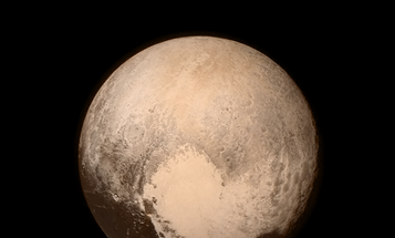 NASA's New Horizons Spacecraft Snaps An Up-Close Shot Of Pluto