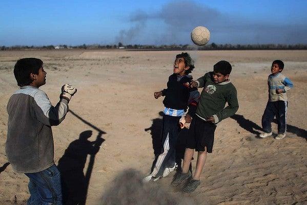 Edited Soccer photo