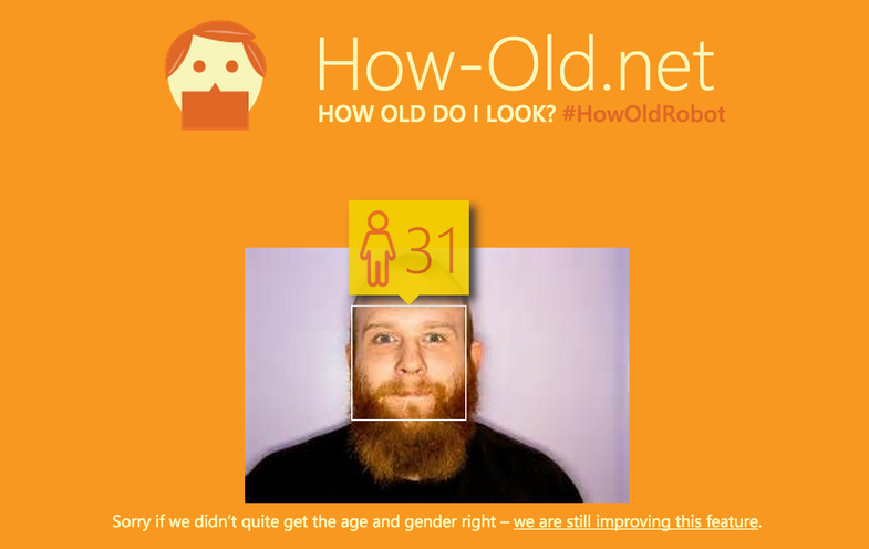 How-Old.Net Uses Science To Guess Your Age From Your Photo