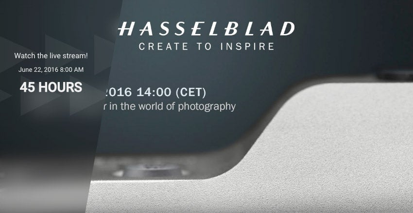 Hasselblad world's first announcement