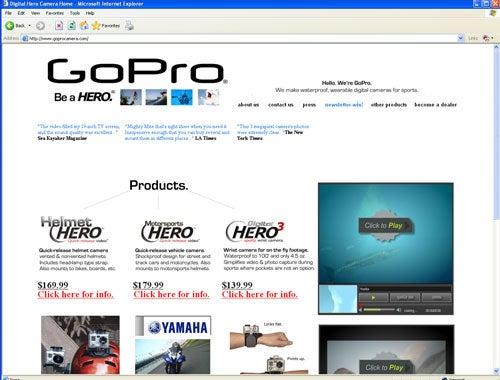 """The-Goods-January-2008-GoProCamera.com-Wear-yo"""