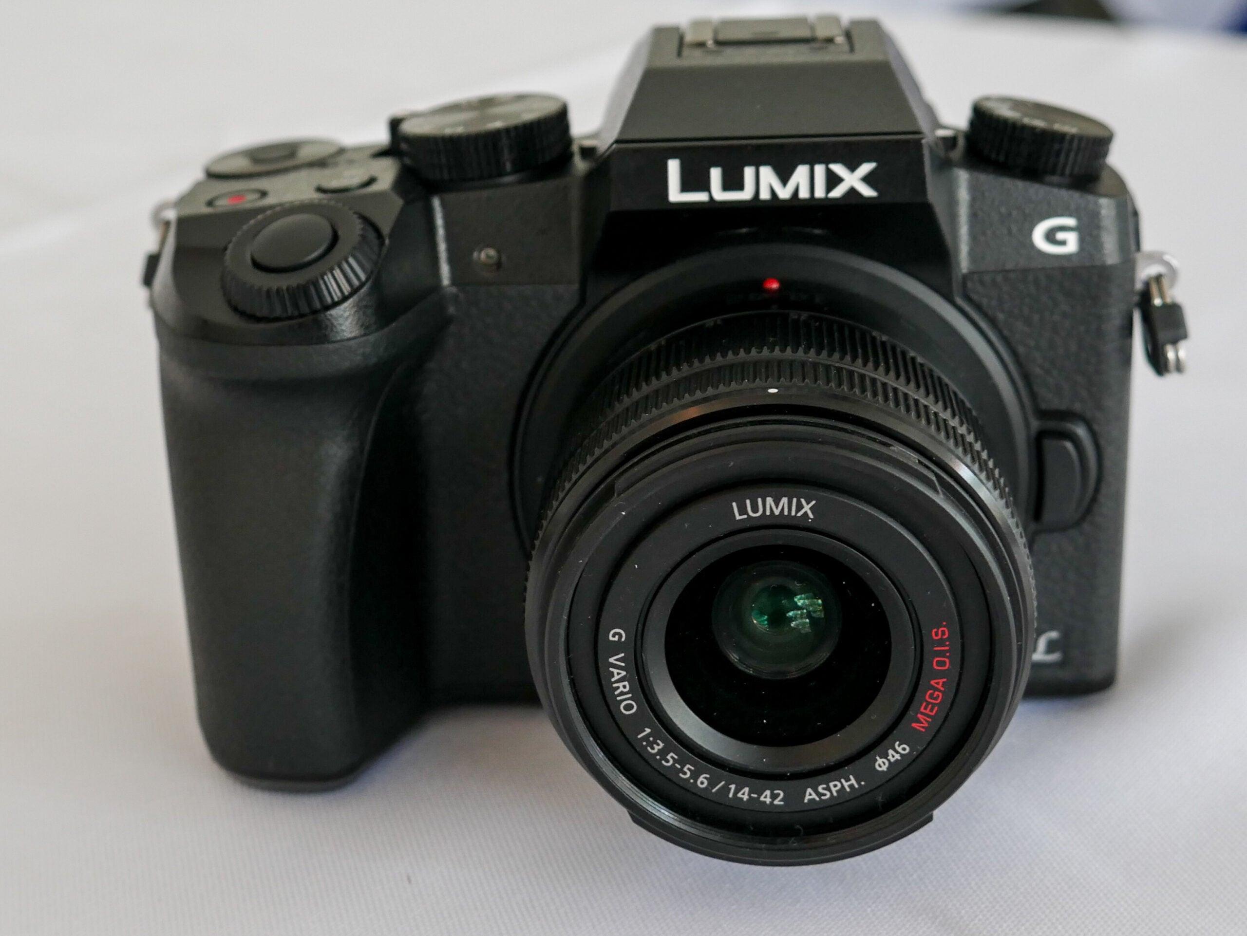 Hands On: Panasonic Lumix DMC-G7