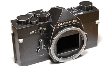 FYI: You Can Print and Fold Paper Models of Some Olympus Cameras
