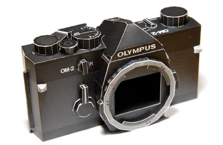 Olympus PaperCraft Cameras