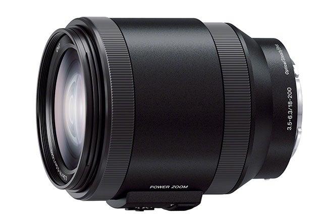 Sony E-Mount 18-200mm OSS