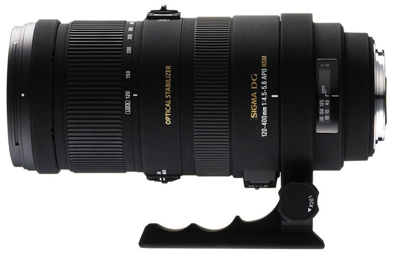 Sigma 120–400mm f/4.5–5.6 APO DG OS HSM