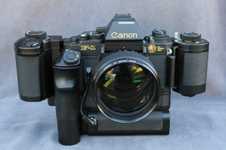 Huge Canon Manual Focus Gear Auction