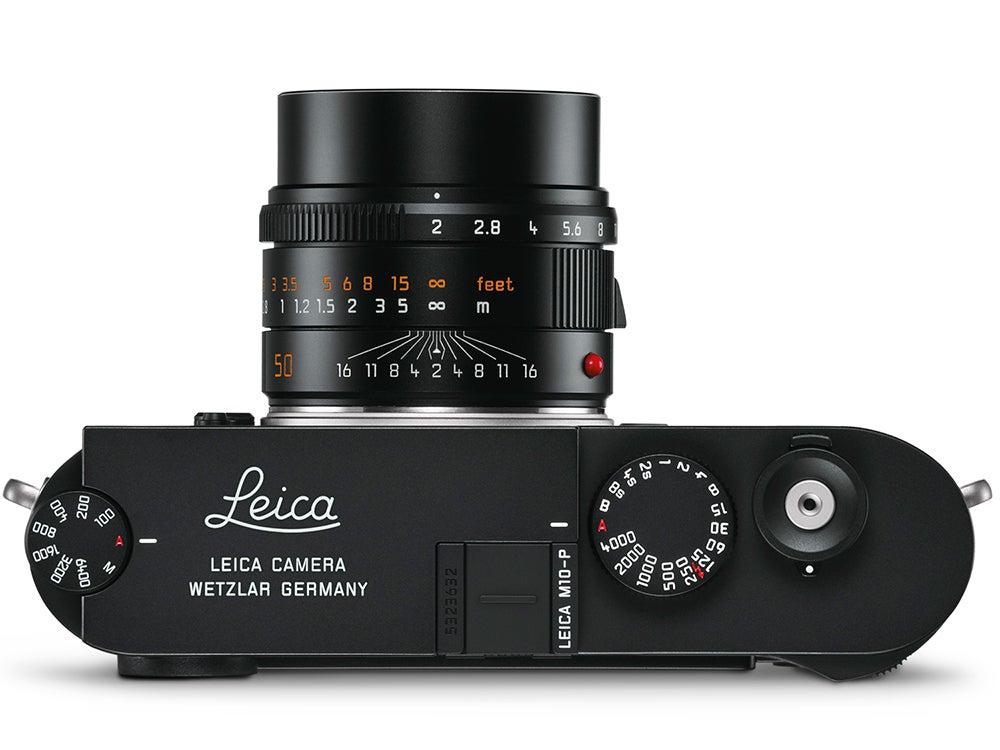 Leica M-10P Camera top