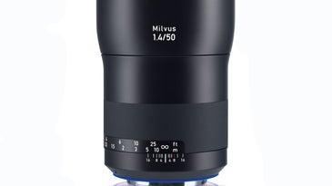 Zeiss Milvus 50mm Lens Lab Test Review