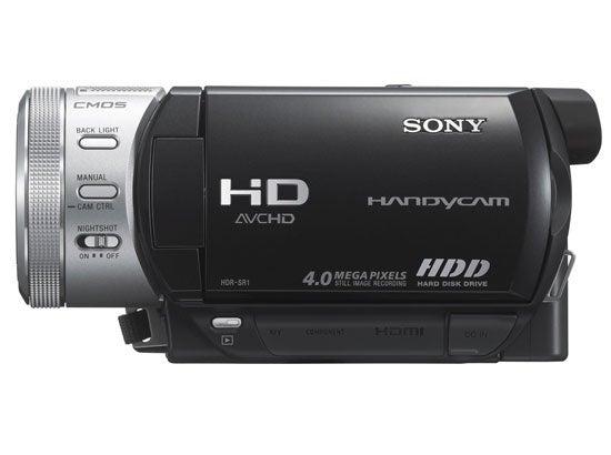 """Sony-HDR-SR1-AVCHD-hard-disk-camcorder"""