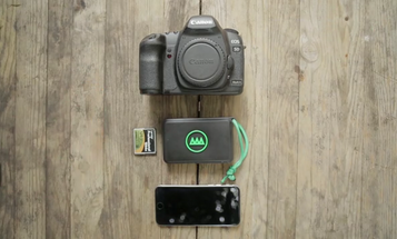 Gnarbox Backs Up Photos and Videos On the Fly, Lets You Edit Wirelessly With Your Phone