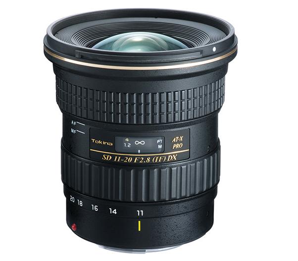 Tokina 11-20mm F/2.8 Wide-Angle Zoom Lens