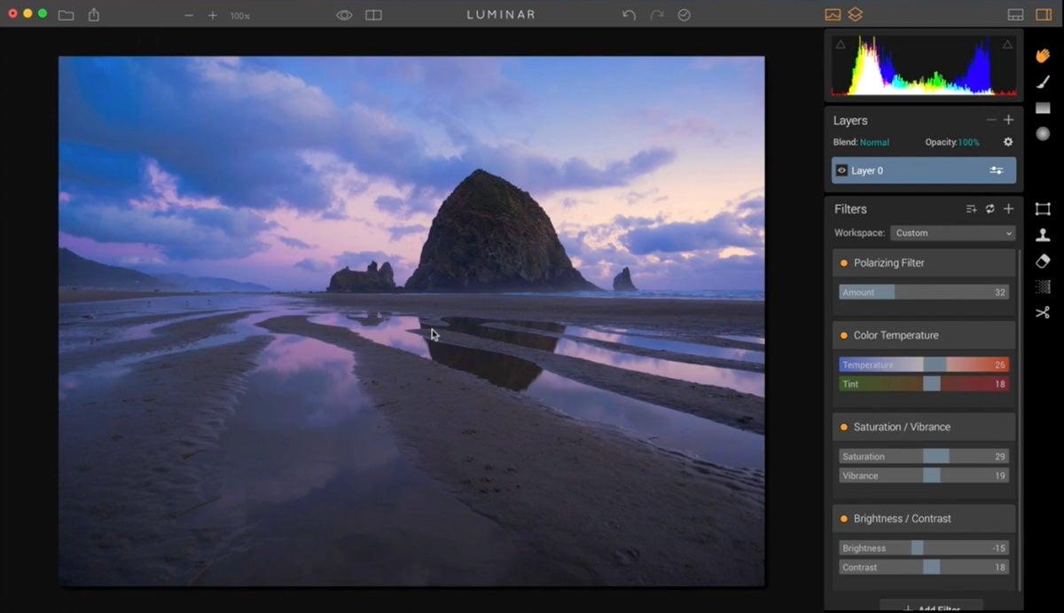 MacPhun Luminar photo editing software