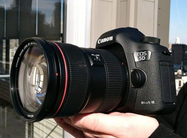 Canon 5D Mark III advisory