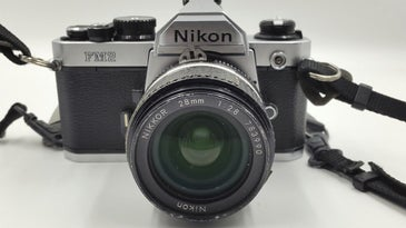 Mary Ellen Mark's Nikon FM2 camera is up for auction