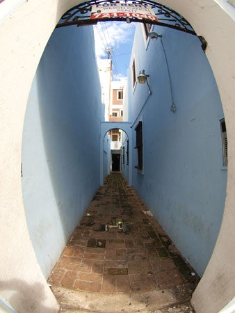 """""""Olympus-E-3-Field-Report-An-alley-in-Old-San-Juan"""""""