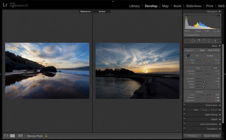 Lightroom updates for iOS and Desktop