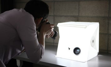 The Foldio2 Self-Lighting Pop Up Product Photography Studio Is Bigger, Brighter Than Before