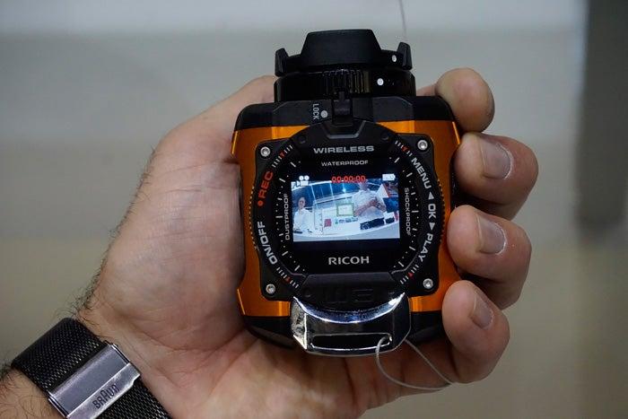 Ricoh WG-M1 Rugged Waterproof Camera Hands-On