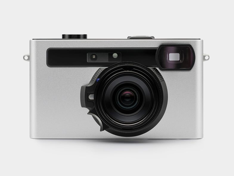 Pixii digital rangefinder camera with a Leica lens mount and no screen