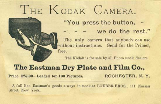 Kodak You Press the Button, We Do the Rest