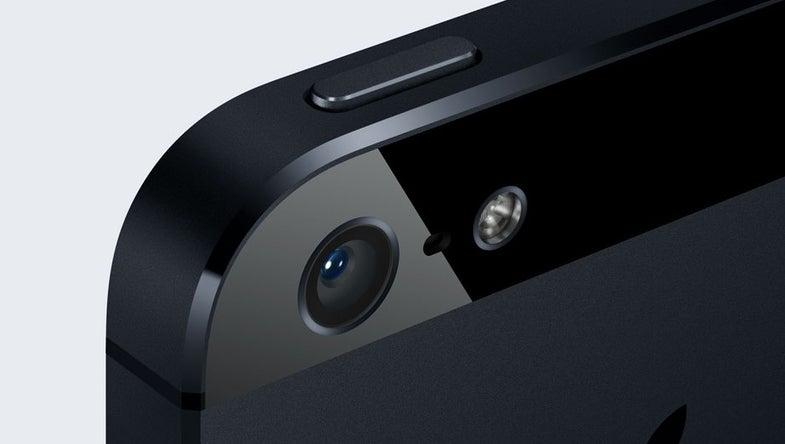 iPhone 5 led