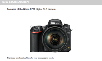 Nikon Releases Official D750 Service Advisory About Flare Issue