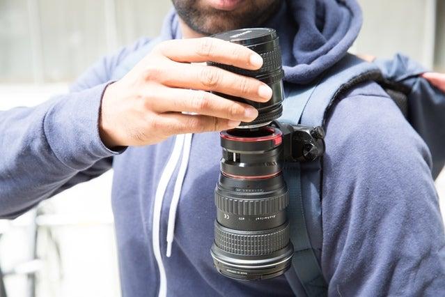 Peak Design Releasing Lens Changing System to Kickstarter Backers First