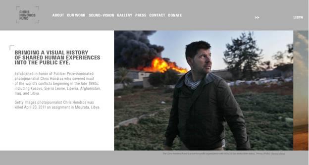 Chris Hondros website