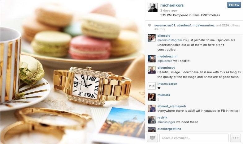 instagram ads reaction 2