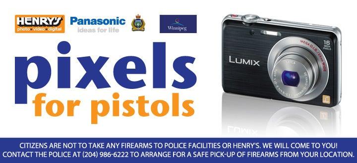 pixels for pistols