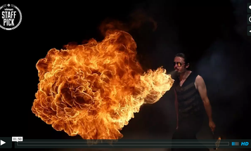This Slow-Motion, Bullet Time Video of Fire Breathers Is Totally Mesmerizing