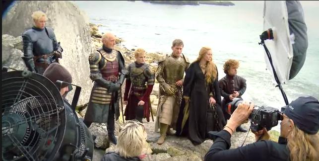 Annie Leibovitz Game of Thrones