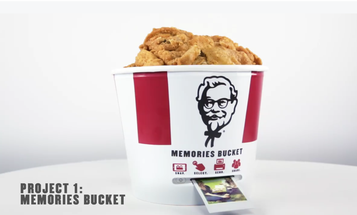 KFC Is Making a Fried Chicken Bucket That's Also a Portable Photo Printer