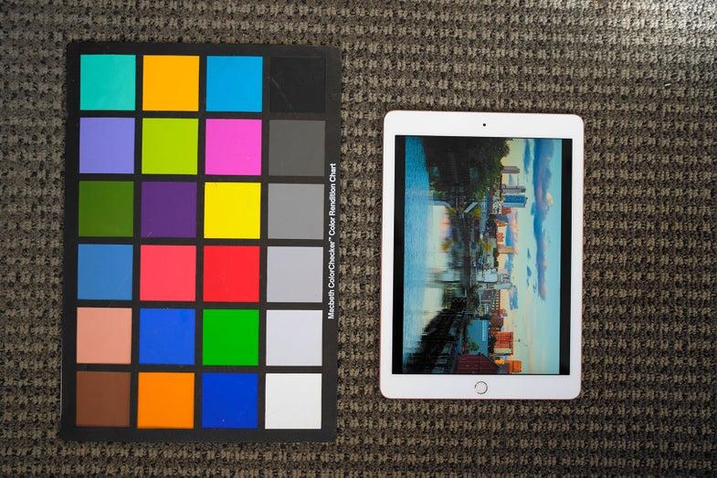 IPAD PRO color shift technology