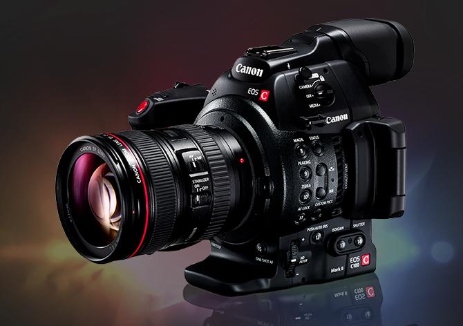 Canon C100 Mark II Cinema Camera