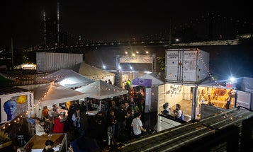 Photoville is a free annual photography pop up festival in Brooklyn Bridge Park