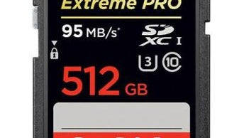 512 GB Sandisk SD Card