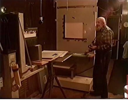 Ansel Adams Darkroom Video