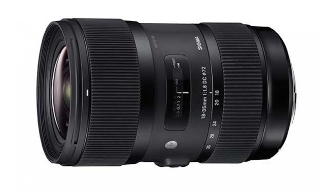 Sigma 18-35mm F/1.8 Zoom Lens