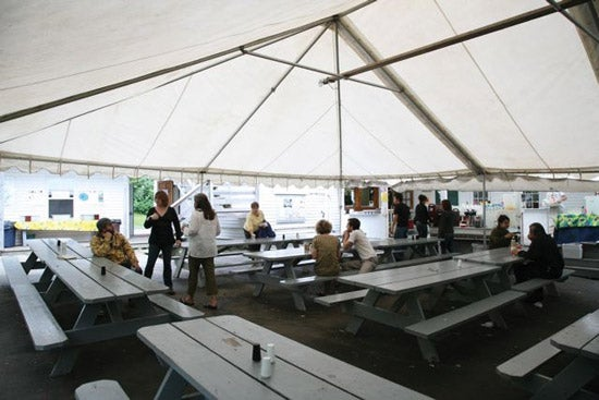 """""""Maine-Media-Workshops-MMW-s-outdoor-dining-tent"""""""