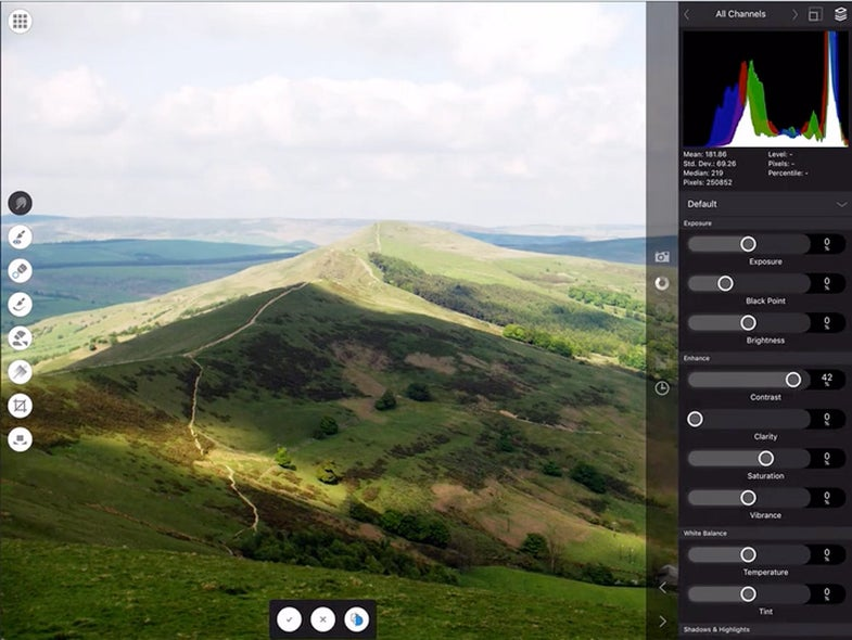 Affinity Photo Editor for Tablets