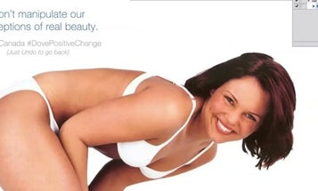 Dove Releases Photoshop Action To Undo Skin Retouching
