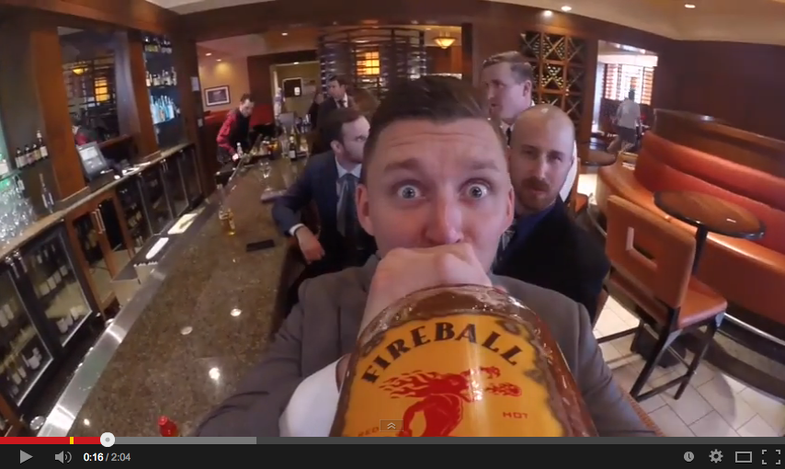 Liquor Bottle GoPro Wedding Video