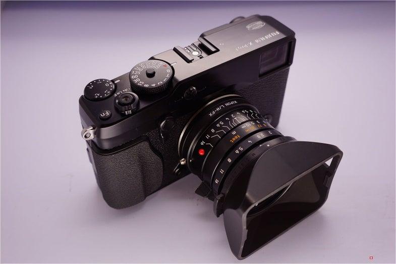 X-pro1 m-mount